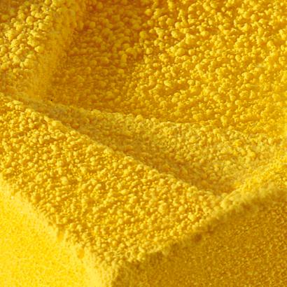 Sprej sametový vzhled  žlutý   100 ml