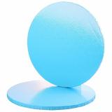Modrá podložka pod dort  30 cm