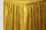 Plastový rautový ubrus  zlatý  426 x 73 cm