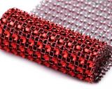 Diamantový pás 58 mm x 1 m červený