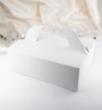 Krabička velká bílá perleť  10 ks