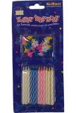 Svíčky mini barevné  24 ks