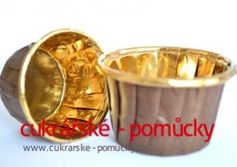 Košíčky na muffiny a cupcakes malé  30 ks