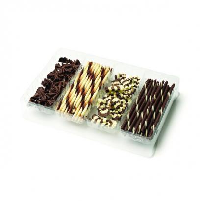 Čokoládové dekorace mix