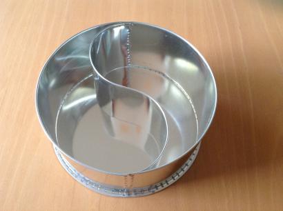 Dortová forma slzy  průměr 24 cm