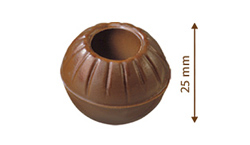 Čokoládové truffle  -  koule na pralinky mléčné  8 ks