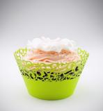 Košíčky na cupcakes  12 ks  limetkové
