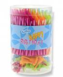 Dortové svíčky barevné 75 ks
