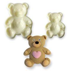 Vykrajovátko medvídek 2 ks
