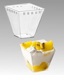 Plastový kelímek cubino 120 ml
