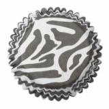 Cukrářské košíčky zebra  80 ks