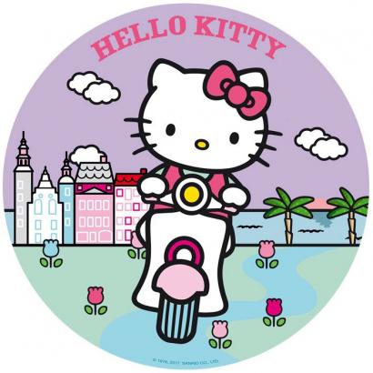 Jedlý papír hello kitty 5
