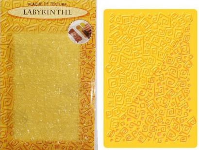 Strukturovací podložka labyrint