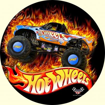 Jedlý papír hot wheels