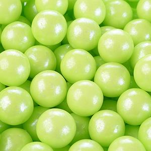 Cukrové perly zelené  60 g