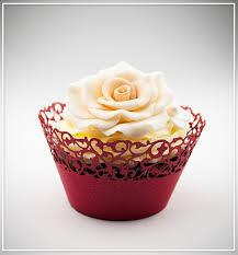 Košíčky na cupcakes  12 ks  červené