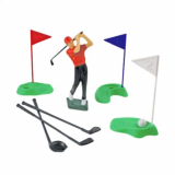 Golfista - golf  dekorace na dort