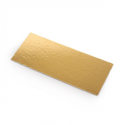 Zlatá podložka minidezert obdélník ii