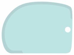 Cukrářská karta tyrkysová