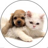 Jedlý papír štěňátko s koťátkem 3