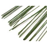 Aranžovací dráty  tmavě zelené 30 ( 0,25 mm )