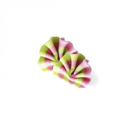 Čokoládové duo vějířky růžovo - zelené  50 g