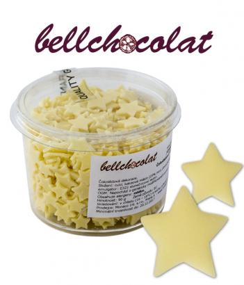 Čokoládové hvězdičky bílé   90 g