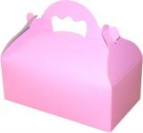Krabička s ouškem růžová