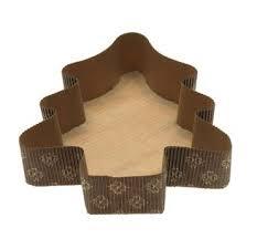Forma z pečného papíru stromeček 10 ks