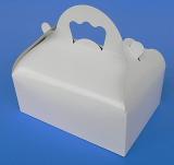 Krabička s ouškem bílá