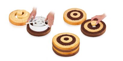 Forma na duhové a šachovnicové dorty