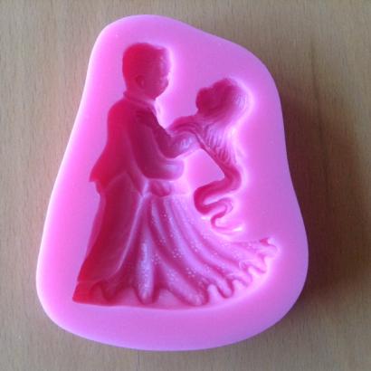 Silikonová forma svatební pár