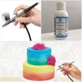 Barva do airbrush azurově modrá 100 g