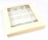 Krabička na pralinky  16 x 16 cm