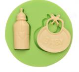 Silikonová formička lahvička a brindáček