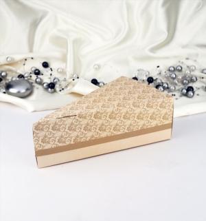 Krabička na dort zlatá 1 ks