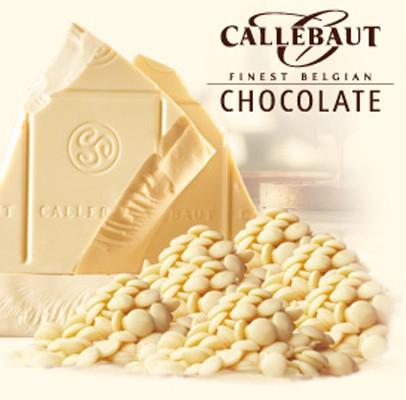Čokoláda callebaut bílá 1 kg