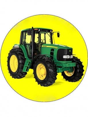 Jedlý papír traktor