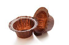 Papírové košíčky na muffiny - hřib  50 ks