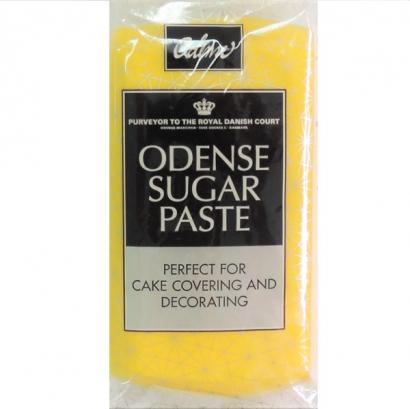 Odense potahovací hmota žlutá  250 g