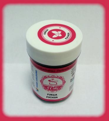 Gelová barva fuchsia  35 g