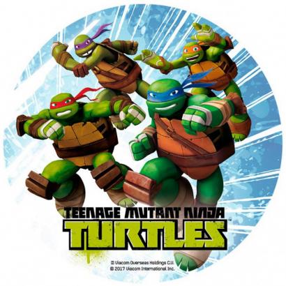 Jedlý papír želvy ninja 2