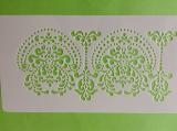 Stencila - šablona dekorů ornament 13