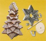 Vánoční stromeček - sada vykrajovátek