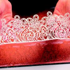 Silikonová forma na krajku 1