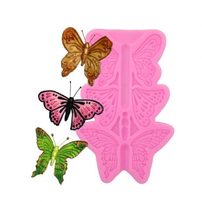 Silikonová forma motýl