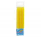 Dortové svíčky žluté