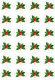 24 ks obrázků z jedlého papíru vánoce 4