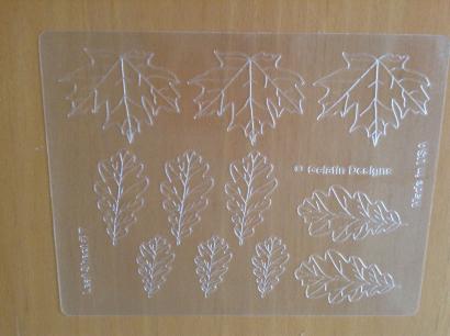 Podložka žilkovací na výrobu z želatiny 20