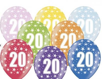 Balonek  33 cm číslo  20